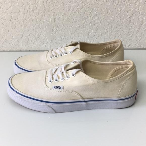 Vans Shoes | Men Classic Beige Size 8